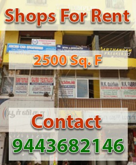 Shops For Rent in Marthandam