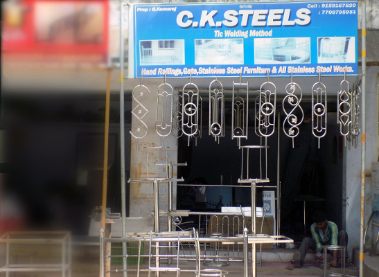 Steel works in marthandam