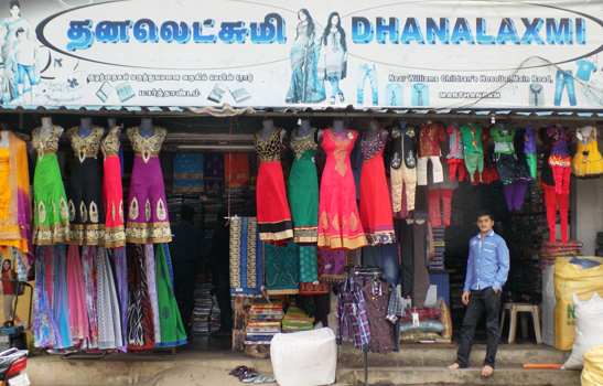 Textile Shop in Marthandam