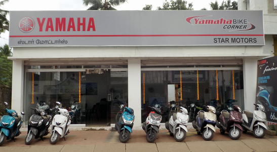 Two Wheeler Showrooms in Kulasekharam