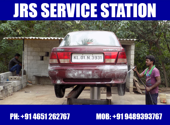 service station in marthandam