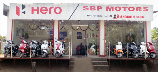 two wheeler showroom in nithiraviali